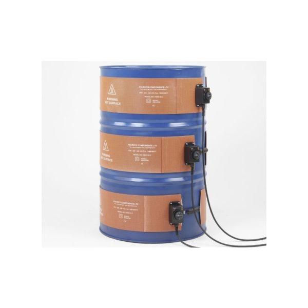 Flexibilní rohožové topení pro 200l sudy | HUTIRA
