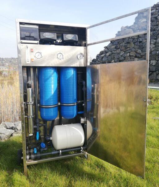 Malá úpravna vody – WATER CAT 500 | HUTIRA