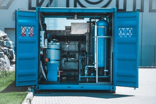 Kontejnerová úpravna vody | HUTIRA