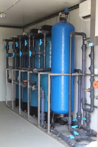 Modulární úpravna vody   HUTIRA