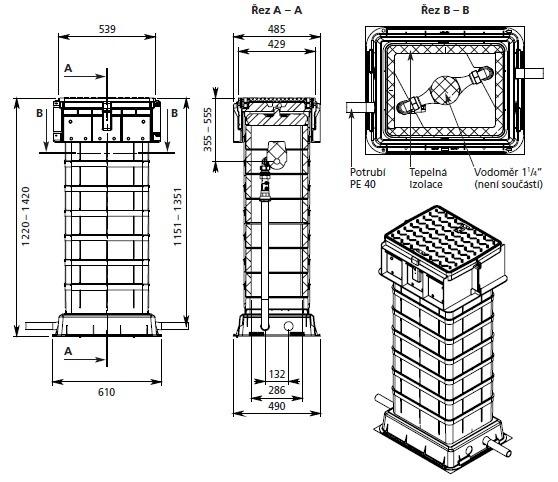 ŠACHTA COMPOZIT – pro bytové domy a komerční objekty | HUTIRA