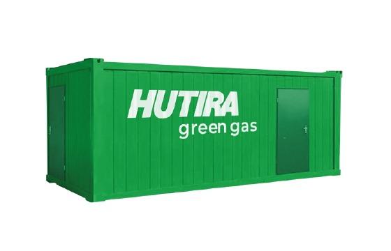 Úpravna bioplynu na biometan HUTIRA green gas | HUTIRA