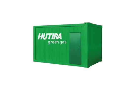 Vtláčecí stanice HUTIRA green gas | HUTIRA