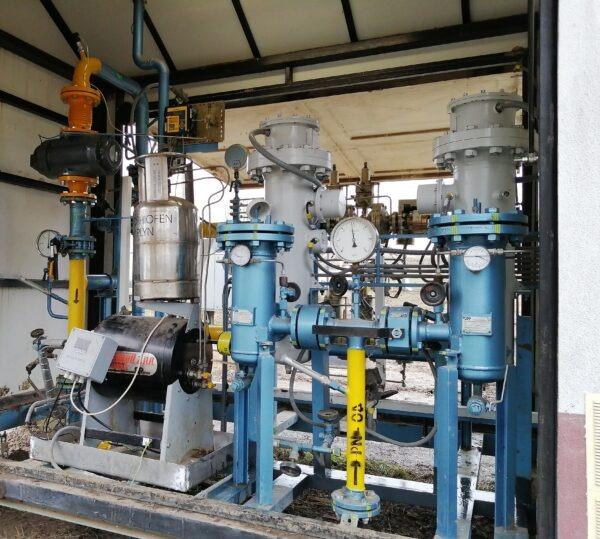 Rekonstrukce vysokotlaké regulační stanice VTL RS 13002/1 – 440 vobci Bruty, SK